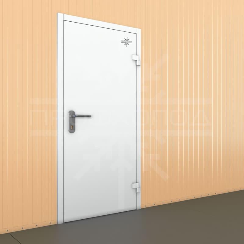 Технологическая дверь одностворчатая
