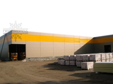 Refrigerating warehouses